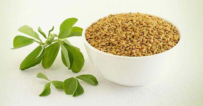 img Soak a handful of methi seeds